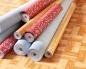 Линолеум - одно из самых распространненых напольных покрытий для помещений.