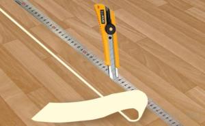 Набор инструментов для укладки минимален
