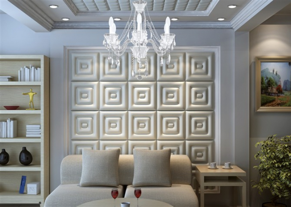 Стеновые панели красиво смотрятся в любом интерьере