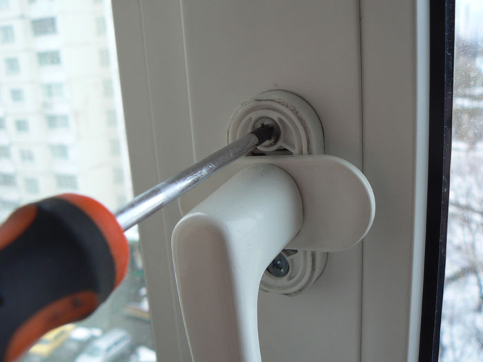 Регулировка ручки пвх окна