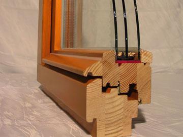 Профиль деревянного стеклопакета