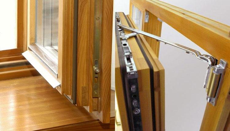 Конструктивные особенности деревянного стеклопакета