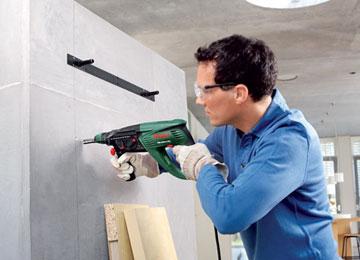 Дрель для сверления небольших отверстий в бетоне
