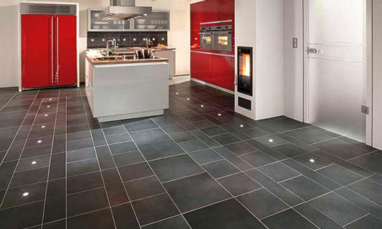 Линолеум пвх в кухне