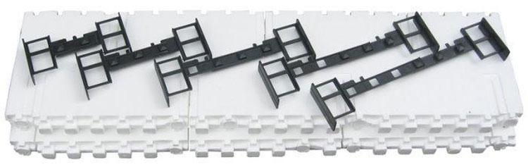 Конструктивные элементы опалубки из пенополистирола
