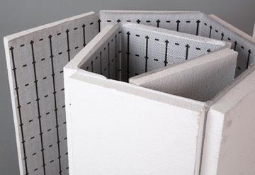 Подложка из пенополистирола под водяной пол