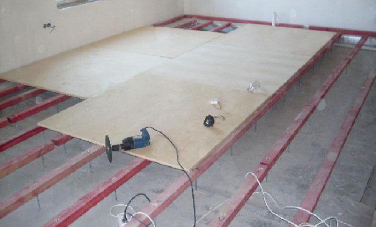 Подготовка деревянного основания под плитку
