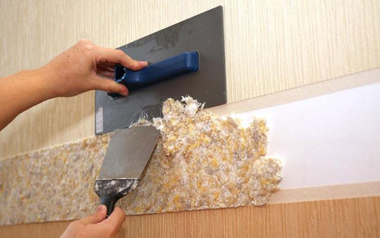 дизайн стоимость работы нанесения жидких обоев на стену готовое производство