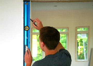 Замер дверного проемадля установки межкомнатной двери