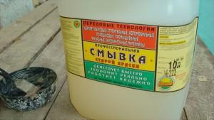 Химический способ удаления старой краски