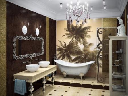 Панно для ванной комнаты