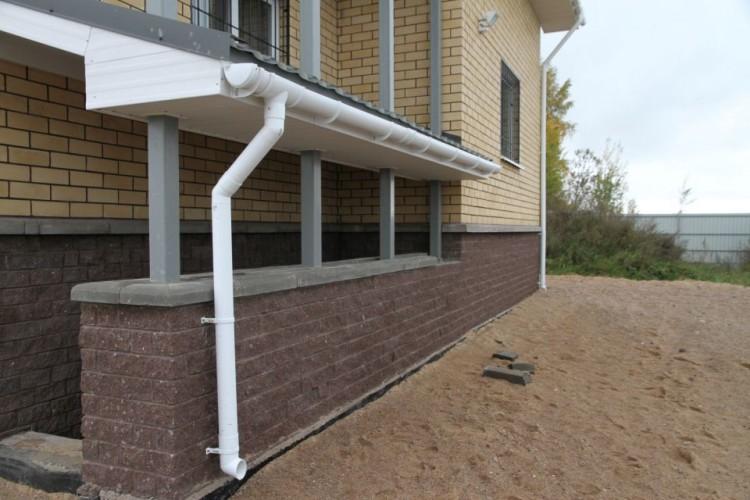 водосточные системы фото 1