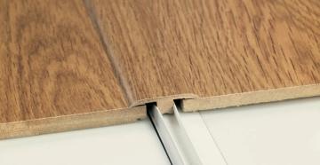 Порожек для ламината деревянный с лотком