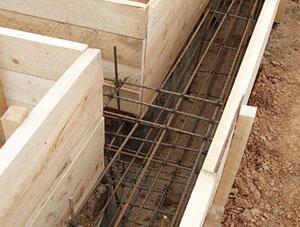 Вертикальная арматура в ленточном фундаменте