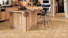 Линолеум в кухне: выбор, качество и дизайн