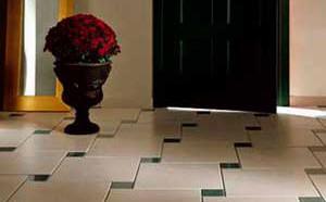 Выбор плитки для укладки в коридор