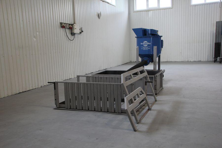 станок для изготовления газоблоков